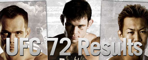 UFC 72 Results