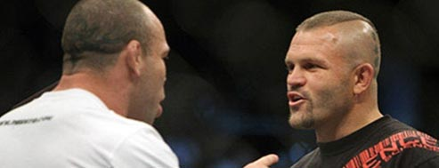 chuck liddell and wanderlei silva ufc december