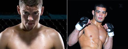 nate diaz vs alvin robinson at ufc fight night 12