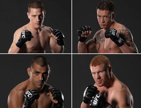 the ultimate fighter tuf 6 cast