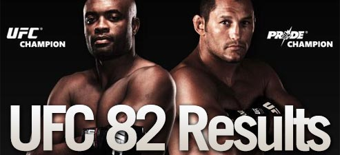 UFC 82 results