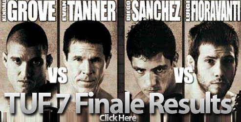 Ultimate Fighter 7 Finale results