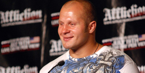 fedor affliction press conference
