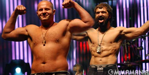 fedor emelianenko vs andrei arlovski affliction