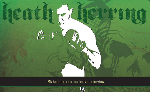 Heath Herring interview