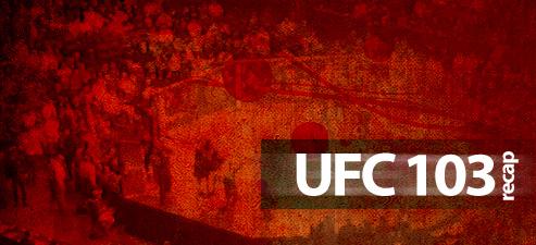 ufc103recap