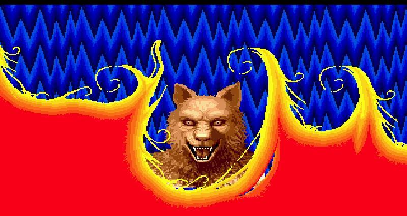 Altered beast huskies red and black attack for Altered beast