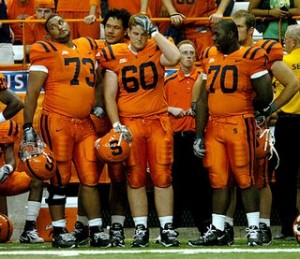UConn's game at Syracuse, home of the ugliest jerseys ever created, Nov. 15 has been set for a noon start.