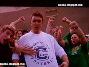 Strong arm and the cojones to wear that shirt in the ND student section? Sign me up.