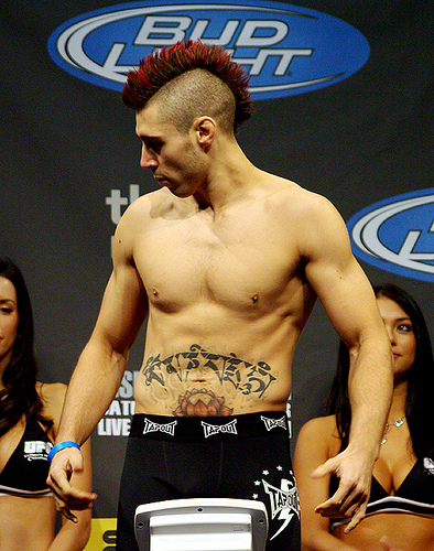 Many MMA fans noticed over the past weeks that the stomach tattoo of Dan