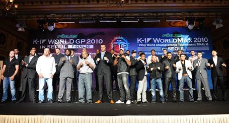 K-1 World GP 2010 Final 16 Fight Card - Bloody Elbow