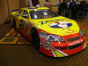 John Wes Townley's No. 21 Chevrolet