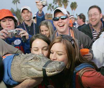 florida gators. Gators generally agree.