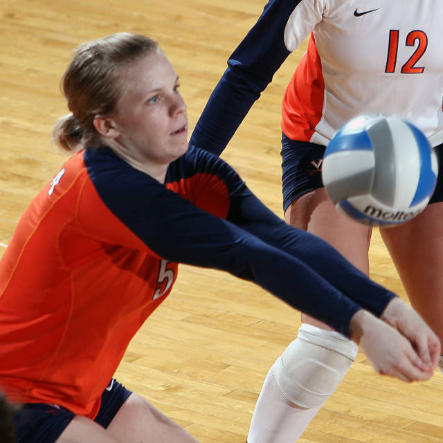 Volleyball, courtesy UVa Media Relations