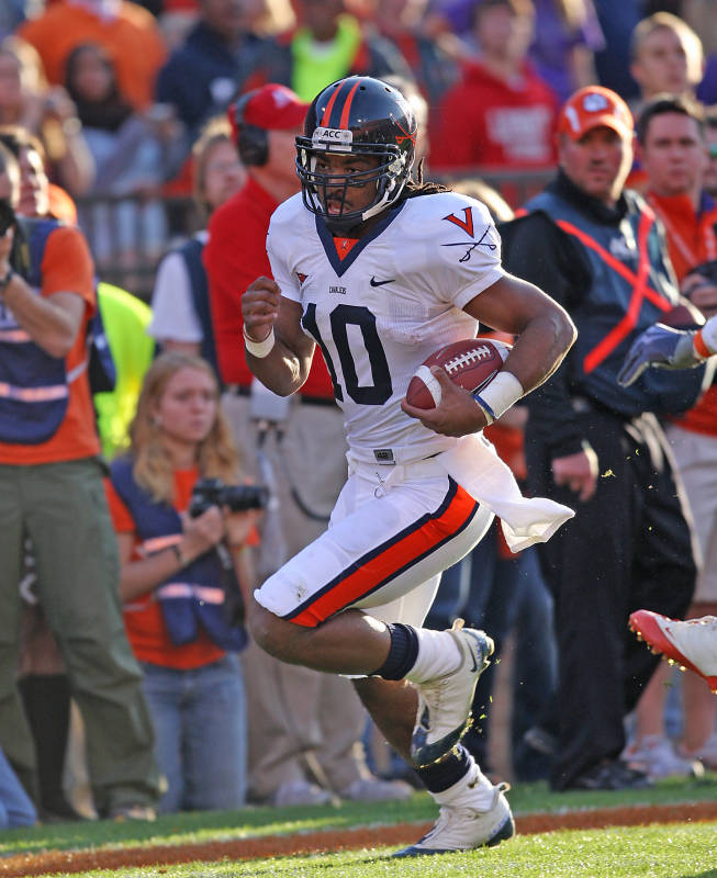 Jameel Sewell, courtesy UVa Media Relations