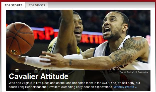 ESPN FrontPage