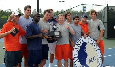 Virginia Men's Tennis, courtesy the ACC