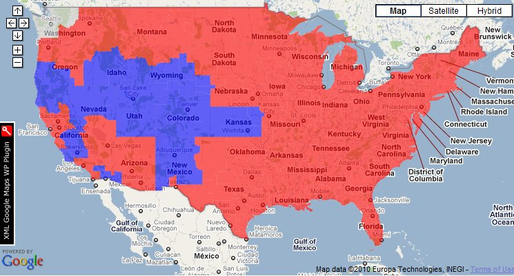 Sunday Morning Bloody Mary NFL Week 15 Coverage Maps  Gang Green