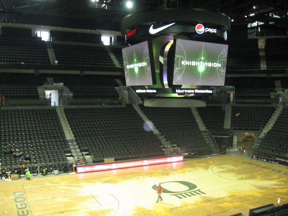 Oregon Basketball Court A Nice Idea Still An Eyesore Sb