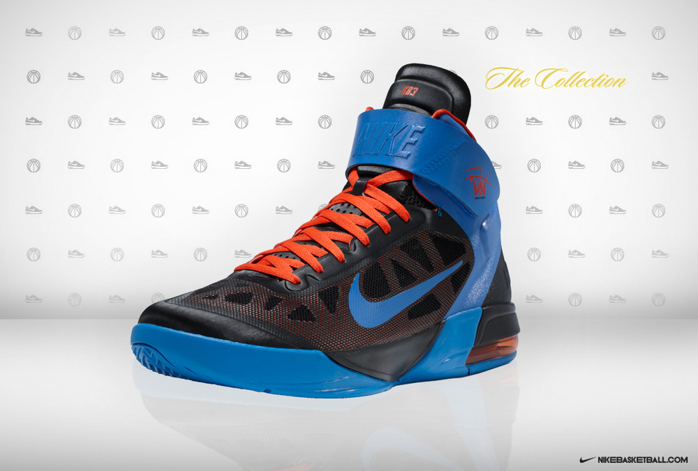 New Russell Westbrook Away Player Edition Black Max Fly By by Nike