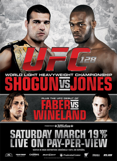 UFC 128 Shogun Vs Jones FULL MMA video at Fight Academy