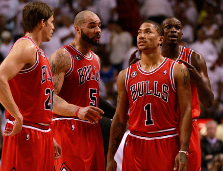 chicago bulls 2011 playoffs. Chicago Bulls demeanour on