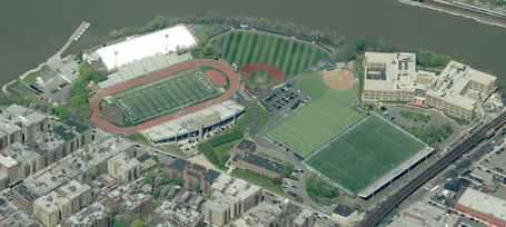Columbia University's Inwood athletic complex