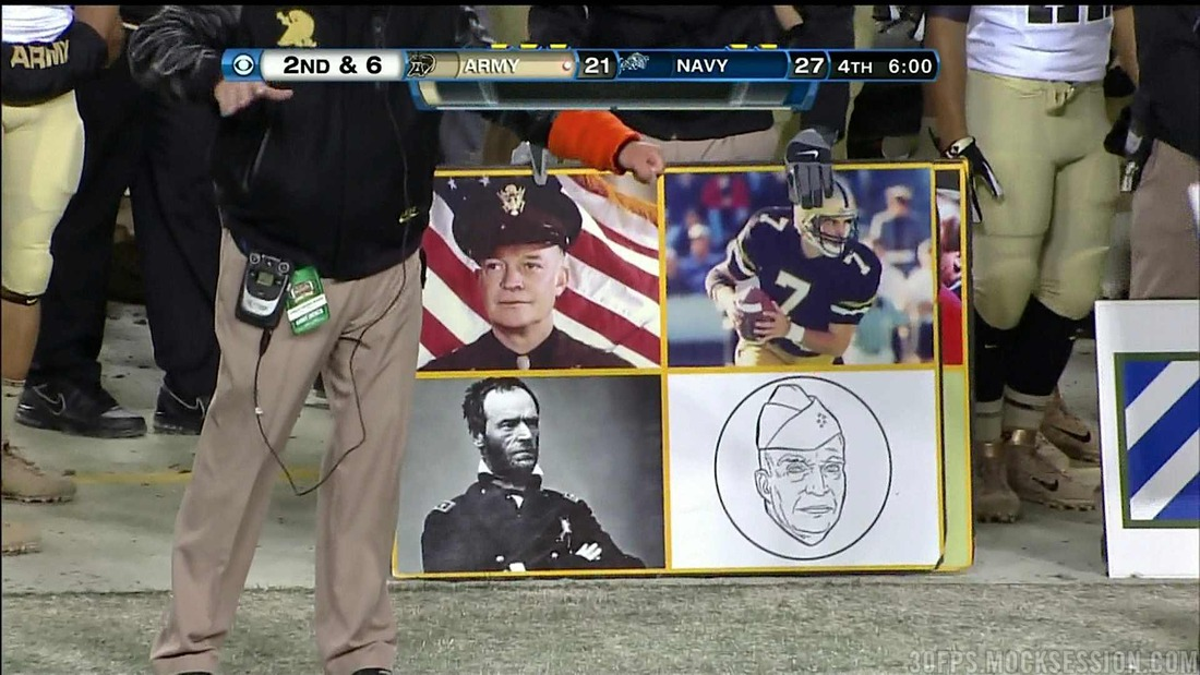 Army-Navy Game 2011: Photo Of Army's Unique Offensive Play Cards ...