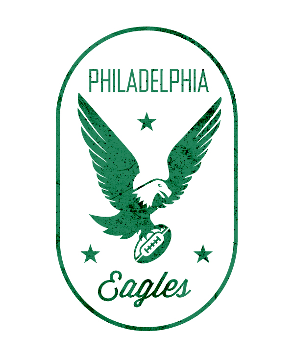 New Retro Eagles Logo Sb Nation Philly