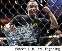 John Dodson wins TUF 14 bantamweight title.