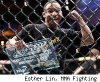 John Dodson wins TUF 14 bantamweight title.