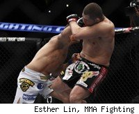 Junior dos Santos knocks out Cain Velasquez at UFC on FOX 1.