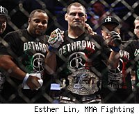 Cain Velasquez will defend his UFC heavyweight title against Junior dos Santos on Saturday night in Anaheim.