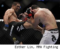 Mark Munoz will face Chris Leben in the main event of UFC 138 on Saturday.