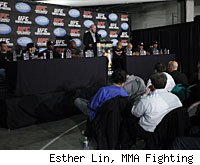 Dana White and a host of fighters from UFC 137 will answer questions at the UFC 137 post-fight press conference.
