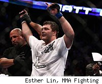 Matt Mitrione will try to remain undefeated at UFC 137 when he faces Cheick Kongo.
