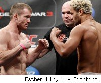 Matt Hughes takes on Josh Koscheck at UFC 135.