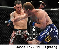 Frankie Edgar will defend his lightweight title again against Gray Maynard at UFC 136 in Houston.