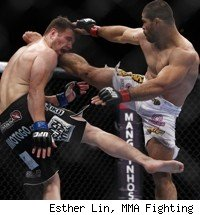 Rousimar Palhares beats Dan Miller at UFC: Rio.