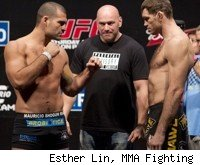 Shogun Rua faces Forrest Griffin at UFC 134 in Rio.
