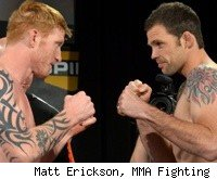Ed Herman vs. Tim Credeur at TUF 13 Finale.