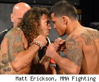 Clay Guida vs. Anthony Pettis at TUF 13 Finale.