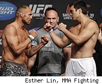 Randy Couture vs. Lyoto Machida is a fight on the UFC 129 main card.