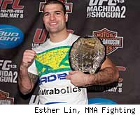 Shogun Rua will defend his title against Jon Jones in the main event of UFC 128.