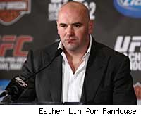 Dana White will answer questions at the UFC 123 post-fight press conference.