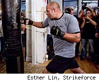 Fedor Emelianenko will battle Fabricio Werdum at Strikeforce: San Jose.