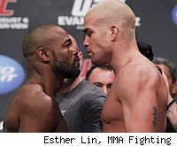 Evans vs. Ortiz is the main event on the pay-per-view card for UFC 133 in Philadephia.