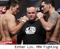 Demian Maia faces Chris Weidman at UFC on FOX 2 in Chicago.