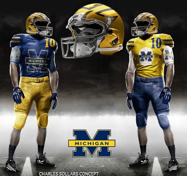 Redskins Helmet 2014 Michigan Uniform Conce...