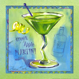 An001_green-apple-martini-posters